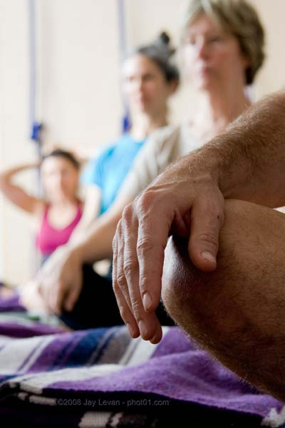 a relaxed hand, yoga photograph